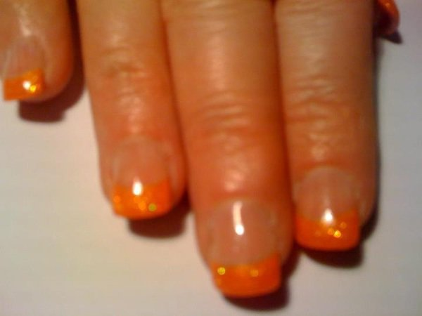pousse su tips  orange