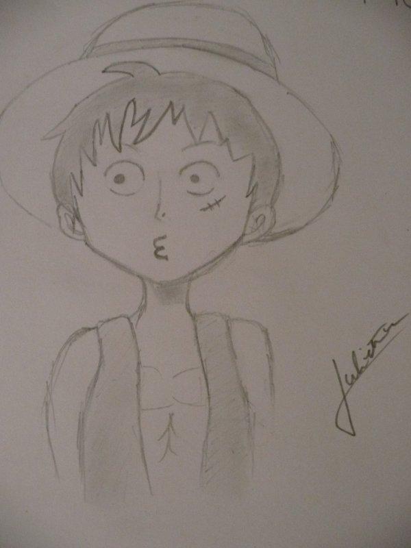 Production de Luffy (de tête)