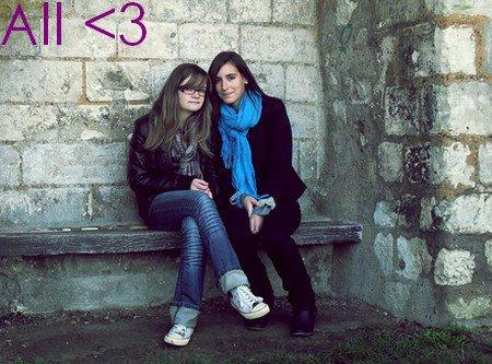 L'idéal de l'amitié, c'est de se sentir un et de rester deux ♥