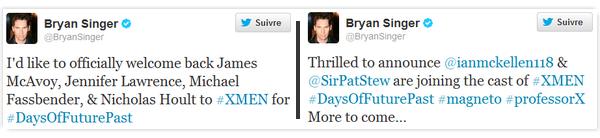 Actualité ll  X-men: days of futur past, news _