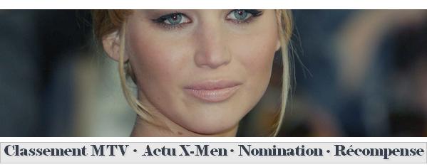 Actualité ll  Nomination + récompense + THG + News X-Men  _