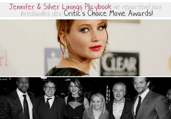 Event 2013 ll  Critic's Choice Movie Awards - le 10.01.13