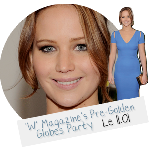 Event 2013 ll  'W' Magazine's Pre-Golden Globes Party - le 11.01.13