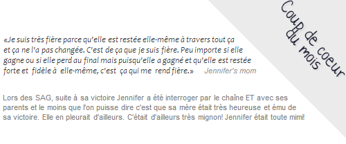 Divers ll  Interview de Jenn avec ses parents