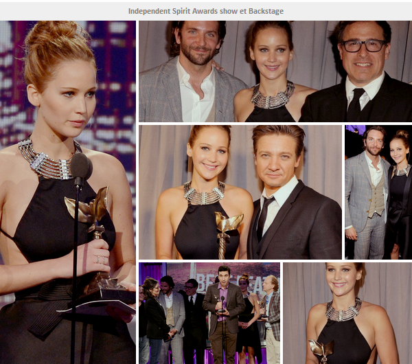 Event 2013 ll  Independent Spirit Award - le 23.02.13