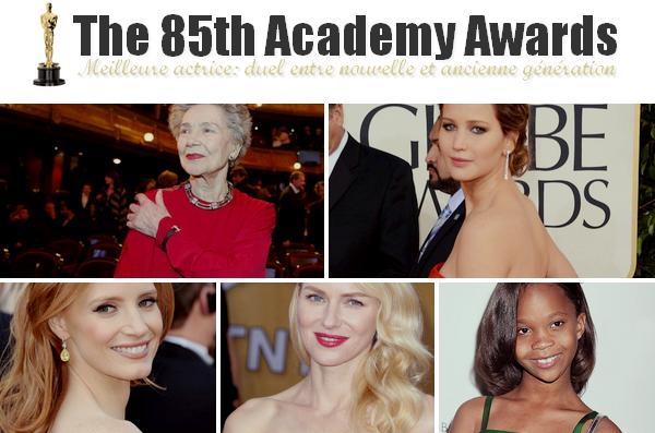 Oscars 2013 ll  Prédictions