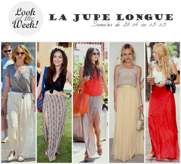 Look Of The Week ll  Semaine du 28.04 au 05.05