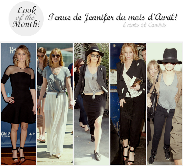 Look Of The Month ll  Mois d'Avril