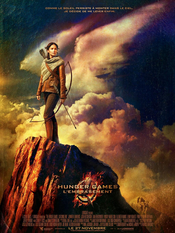 The Hunger Games: Catching Fire ll  Poster Officiel