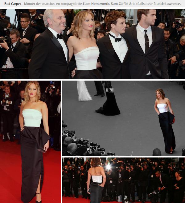 Event 2013ll  Festival de Cannes // Monter des Marches - le 18.05