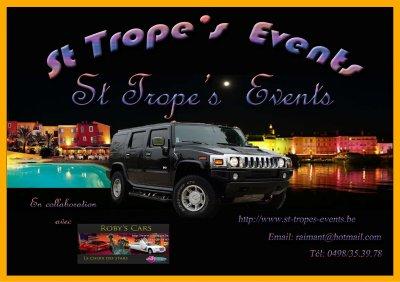 A venir ouverture  de St...Trope's...Events.....
