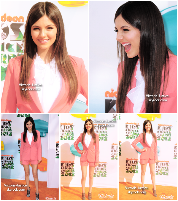 31/3/12   Victoria était aux Kids Choice Awards au Galen Center dans Los Angeles, Californie.