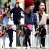 05/04/12 : Selena et Justin Bieber sont allés déjeuner au restaurant Panera Bread à Los Angeles.