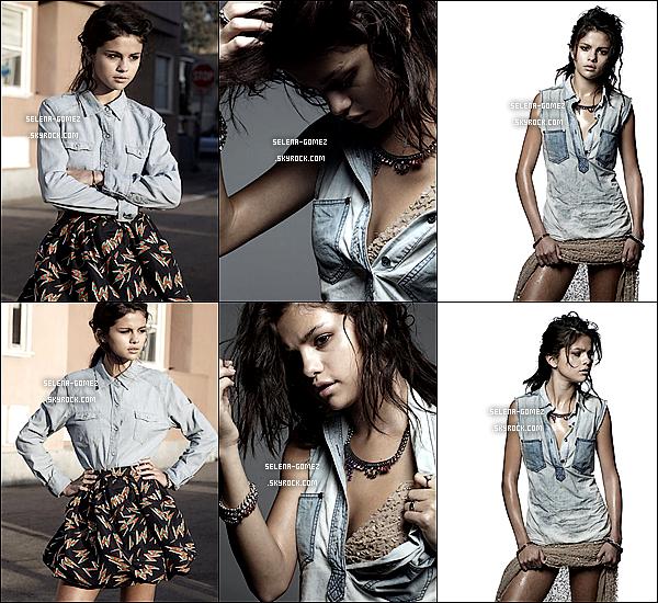 """Découvrez également un nouveau shoot de Selena pour """"Interview Magazine""""."""