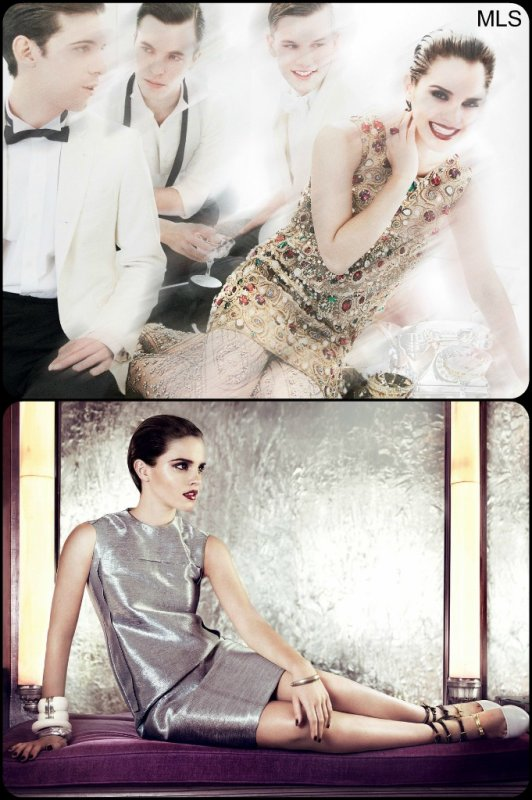 Shoot d'Emma Watson pour Vogue US.