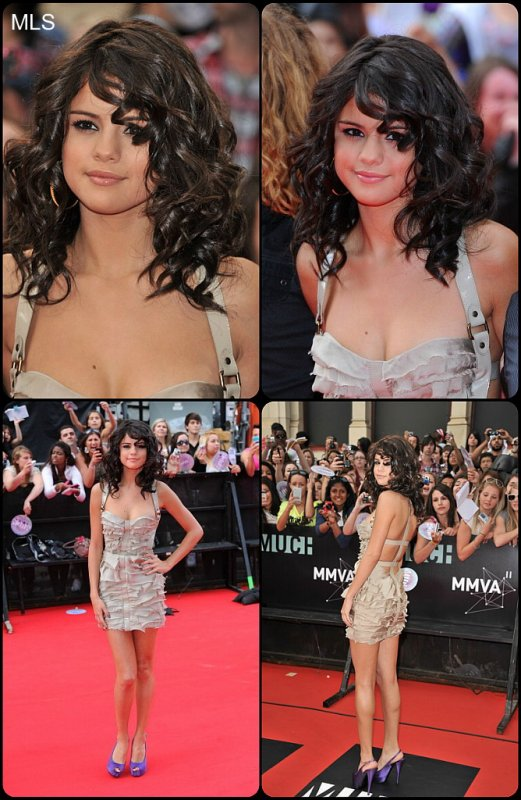 Selena aux MVA (elle les a même présentés).