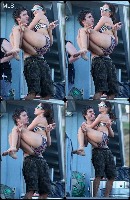 Ashley and Zac !!! Euh ....