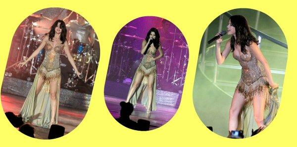 Selena en Floride pour un des premiers concert de sa tournée !