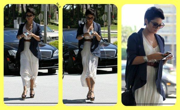 Vanessa à retrouvé un style très classe ! OUF !
