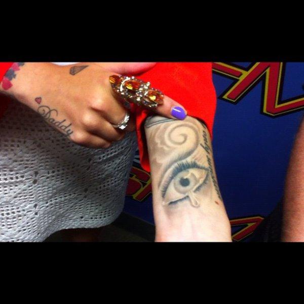 Nouveau Tatto de Cher :) Vous aimez ?