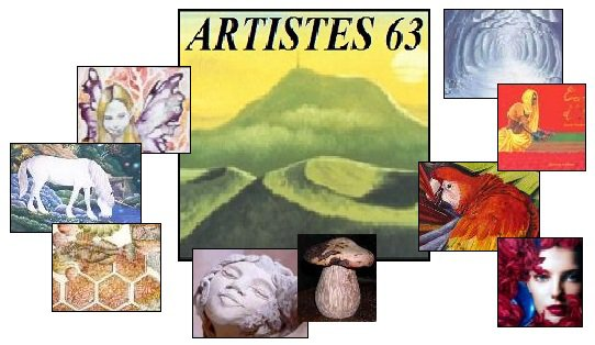 Image de la page index du site Artistes63