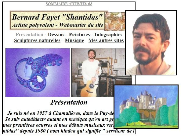 Présentation de Bernard Fayet Shantidas