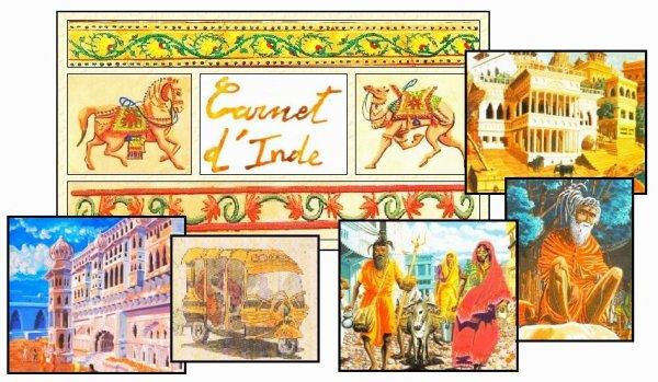 Carnet de voyage . Inde