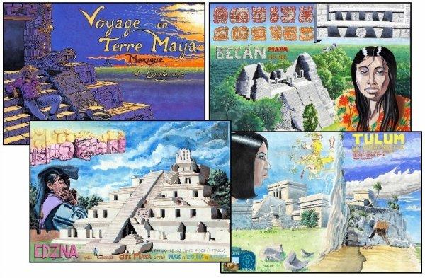 """Pages sur """"Voyage en terre maya"""""""