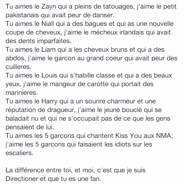 UNE VRAIE DIRECTIONNER :)