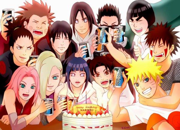 """Que voulez-vous pour votre anniversaire?  { anciennement """"Papa noël Naruto"""" }"""