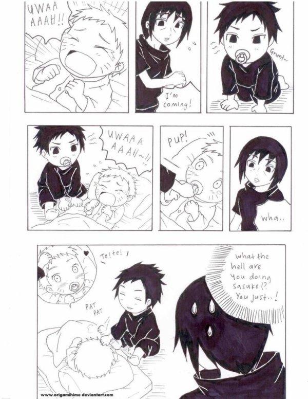 SasuNaru et les Uchiwa