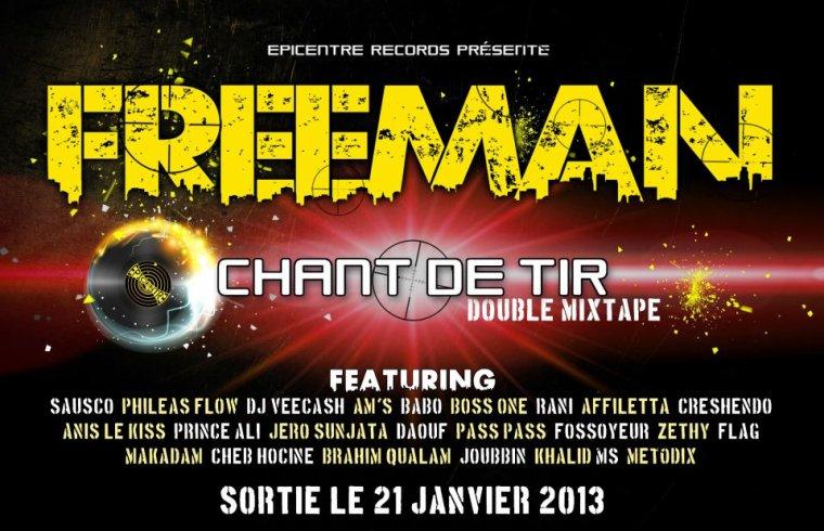 Freeman(IAM) Feat Zethy & Boss One(3EME OEIL) - La rage dans la rétine (2010)