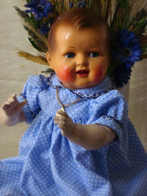 Robe à pois pour le bébé Raynal