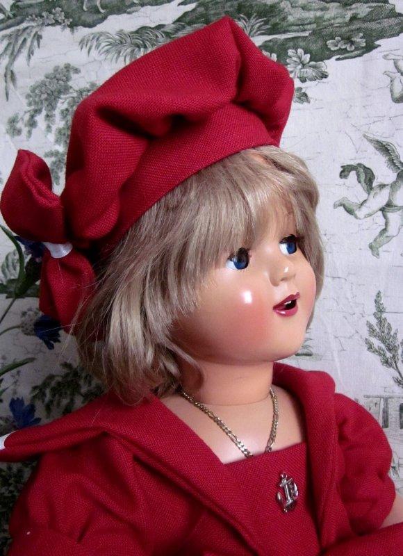 Robe marin pour ma poupée Raynal Florence