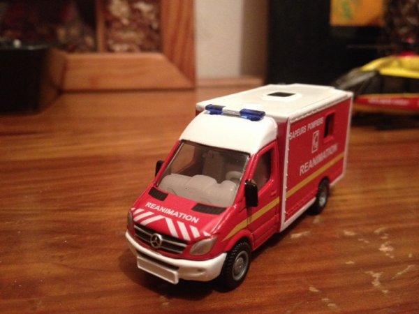 Les pompiers auront un véhicule de réanimation