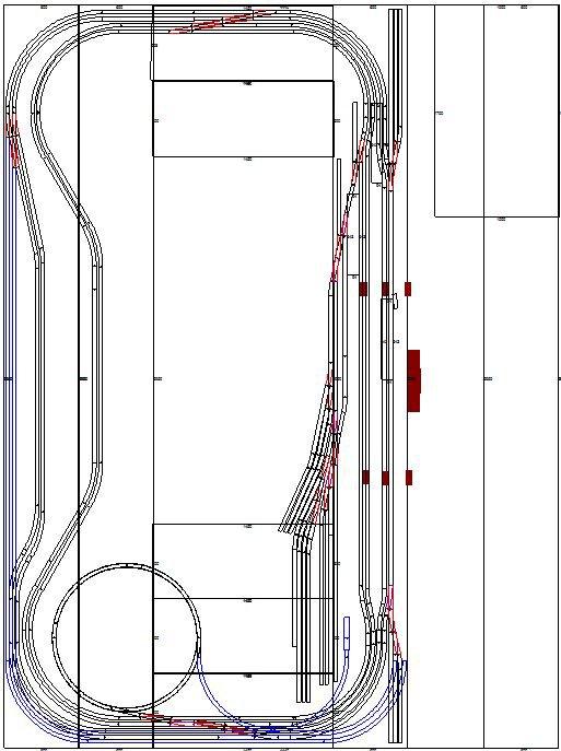 Petites modifications des plans du train