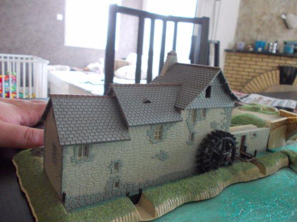 Le moulin du site romain