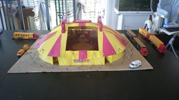 Le cirque Pinder offert par Jean Pierre (PINDER 62600)