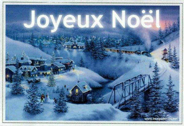 Bon réveillon de Noël à vous tous