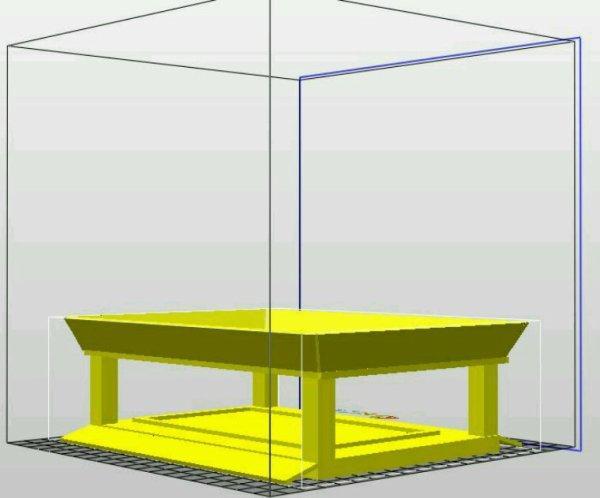 Modélisation d'un autoscooter enfant en 3D