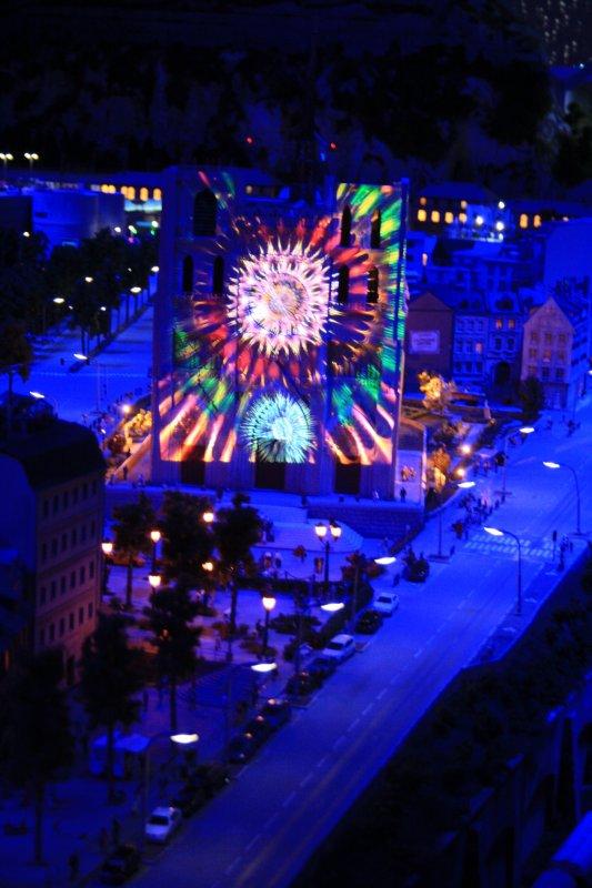 Reportage photo mini world Lyon: fête des lumières
