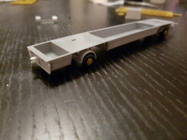 Montage d'une caravane XXL: Le châssis