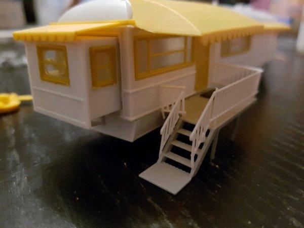 Montage caravane XXL : suite et fin
