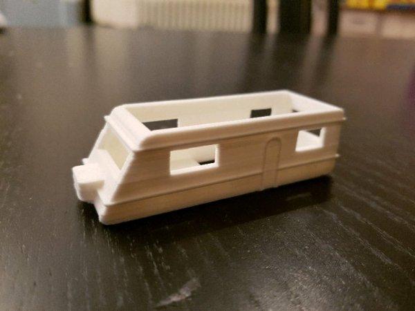 Impression d'une caravane en 3D