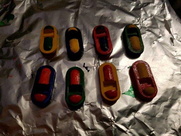 Les petits bateaux électriques pour jeunes enfants : la peinture