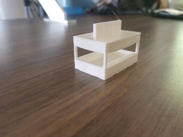 Le château hanté : la caisse