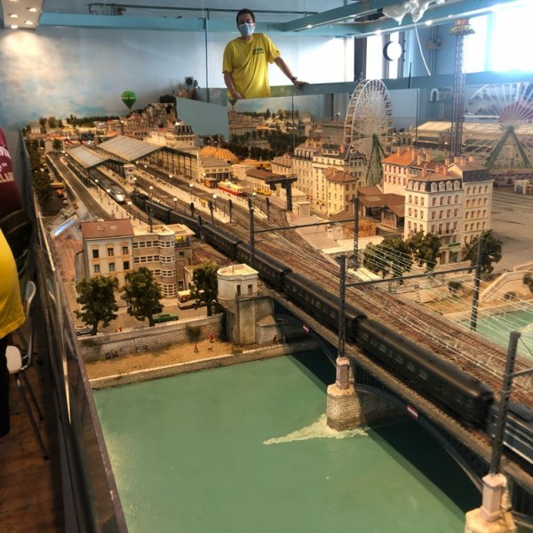 Petite visite au club des chemins de fer privé de la Mulatière
