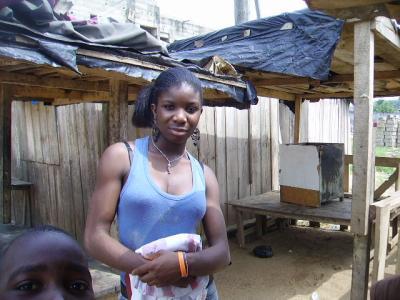 ma petite soeur  en afrique