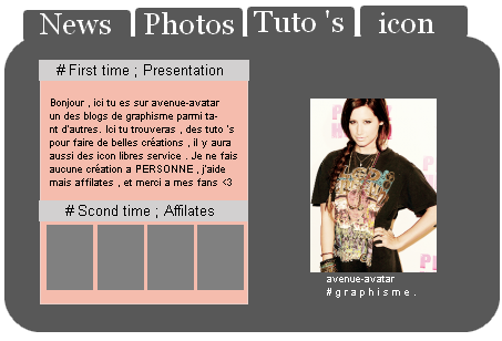 Article » I2'; photofiltre ✿ .  Réaliser un layout