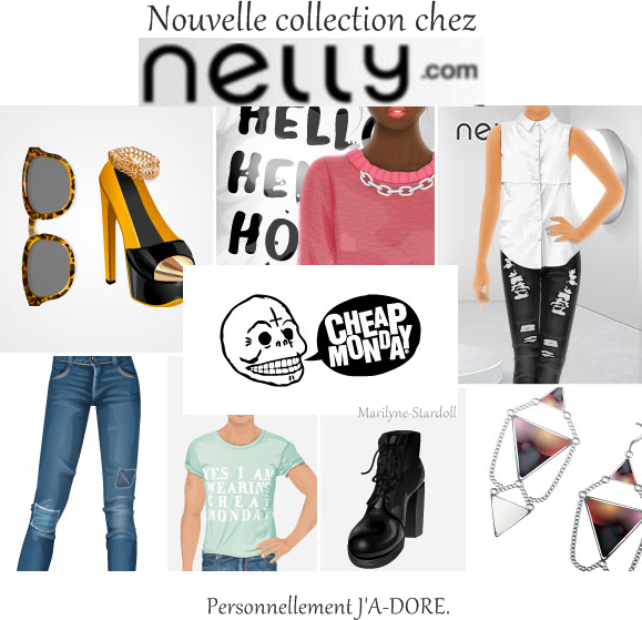 Collection Nelly.com (Cheap Monday)